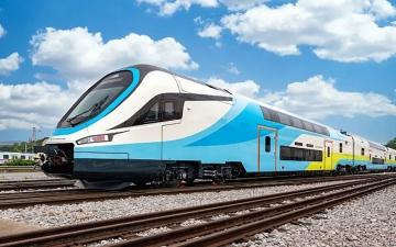 الصورة: الصورة: الصين تصدر قطاراً عالي السرعة ذا طابقين إلى أوروبا