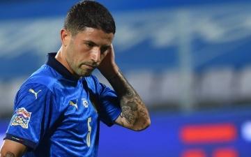 """الصورة: الصورة: ضربة موجعة للمنتخب الإيطالي قبل انطلاق """"يورو 2020"""""""