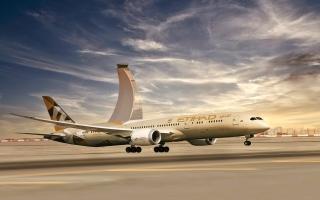 الصورة: الصورة: الاتحاد للطيران تطلق وجهات صيفية إلى ميكونوس وسانتوريني ومالقة