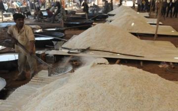 """الصورة: الصورة: """"حرب الأرز"""" تشتعل بين باكستان والهند"""