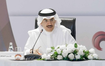 """الصورة: الصورة: أمين عام """"التعاون الخليجي"""" يؤكد أهمية المحافظة على المكتسبات المتحققة قبل الجائحة"""