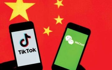 الصورة: الصورة: بايدن يلغي إجراءات حظر تطبيقي «تيك توك ووي تشات» الصينيين