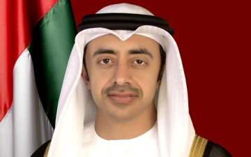 الصورة: الصورة: عبدالله بن زايد يستقبل الأمين العام لمجلس التعاون لدول الخليج العربية