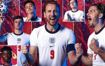 """الصورة: الصورة: نجوم """"الأسود الثلاثة"""" يبدعون في صورهم الرسمية لـ """"يورو 2020"""""""