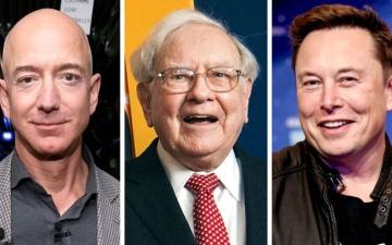 الصورة: الصورة: من بينهم بيزوس وماسك..أغنى 25 أمريكيا يدفعون ضرائب أقل من معظم العاملين