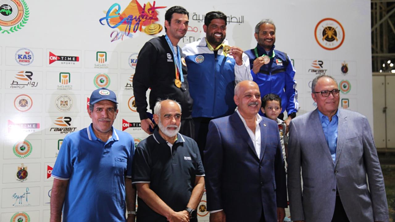 الصورة : المهيري ظفر بالبرونزية في البطولة | البيان