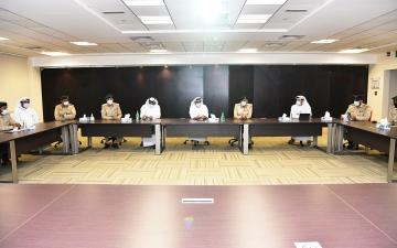 الصورة: الصورة: شرطة دبي تقف على جاهزية فرق عمل «إكسبو»