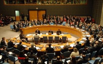 الصورة: الصورة: جلسة اقتراع اليوم لاختيار 5 أعضاء غير دائمين في مجلس الأمن