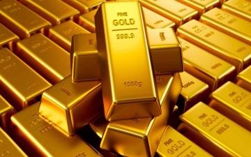 الصورة: الصورة: الذهب يهبط بفعل زيادة الدولار مع اعتبار صعود التضخم عابرا