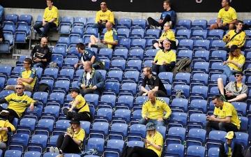 الصورة: الصورة: السماح بحضور 25 ألف متفرج في مباراتي المنتخب الدنماركي أمام بلجيكا وروسيا