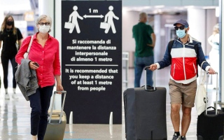 الصورة: الصورة: الاتحاد الأوروبي يخفف قيود السفر عبر الحدود خلال الصيف