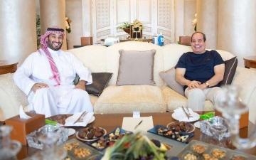 الصورة: الصورة: السيسي يؤكد اعتزازه بالعلاقات بين مصر والسعودية