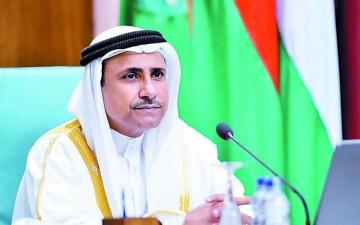 الصورة: الصورة: رئيس البرلمان العربي: انتخاب الإمارات لعضوية مجلس الأمن تتويج لمساعيها في دعم استقرار المنطقة