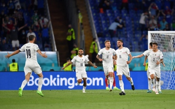 الصورة: الصورة: إيطاليا تضع أول ثلاث نقاط في رصيدها على حساب تركيا في افتتاحية أمم أوروبا