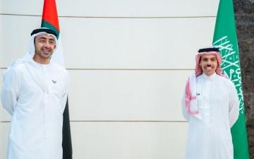 الصورة: الصورة: فيصل بن فرحان يؤكد دعم السعودية للإمارات لخدمة استقرار المنطقة
