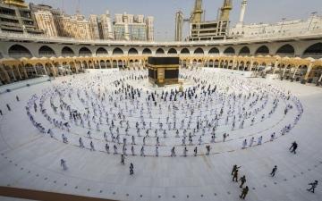 الصورة: الصورة: قصر الحج على المواطنين والمقيمين في المملكة