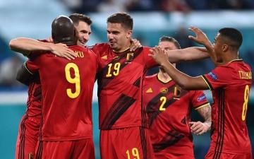 الصورة: الصورة: بلجيكا تستهل مشوارها في أمم أوروبا بفوز سهل على روسيا