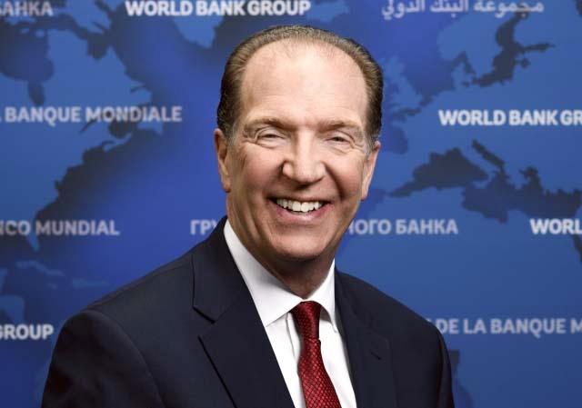 الصورة : ديفيد مالباس - رئيس مجموعة البنك الدولي.