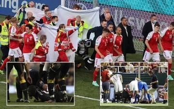 الصورة: الصورة: حادثة إريكسن تحيي ذكريات مؤلمة في ملاعب كرة القدم