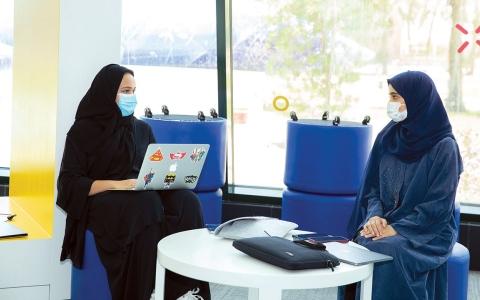 الصورة: الصورة: برامج مبتكرة لجامعة الإمارات خلال مشاركتها في إكسبو دبي