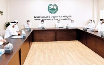 الصورة: الصورة: اجتماعات دورية في شرطة دبي للوقوف على جاهزية فرق عمل «إكسبو 2020»