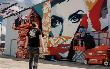 الصورة: الصورة: جداريات دبي رسائل عالمية للسلام والتعايش