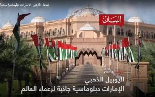 الصورة: الصورة: الدبلوماسية الإماراتية جاذبة لزعماء العالم