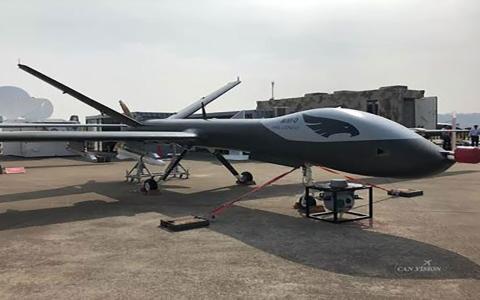 الصورة: الصورة: بالفيديو.. الصين تختبر طائرة مسيّرة عملاقة