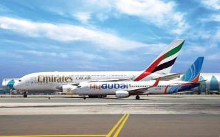الصورة: الصورة: قطاع الطيران بدبي نموذج عالمي ومحرك رئيس للنمو في العالم
