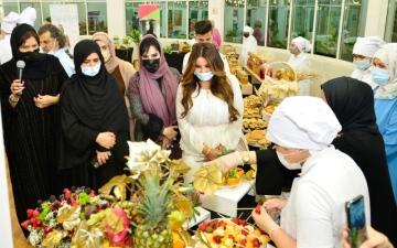 الصورة: الصورة: مركز راشد لأصحاب الهمم ينظم مسابقة الطهي الصحي