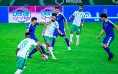الصورة: الصورة: السعودية إلى النهائيات القارية والدور الحاسم من المونديال