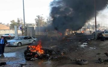 الصورة: الصورة: مقتل 3 جنود وإصابة آخرين في انفجار بمحافظة ديالى العراقية
