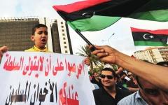 الصورة: الصورة: تحسباً لهزيمة حزبه في الانتخابات... رئيس «إخوان ليبيا» يتخلى عن منصبه