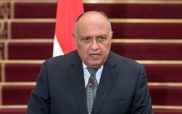 الصورة: الصورة: شكري يؤكد رغبة مصر في حل أزمة سد النهضة عبر المسار التفاوضي