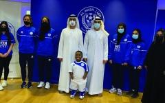 الصورة: الصورة: النصر يضم «البادل تنس» إلى ألعاب القلعة الزرقاء