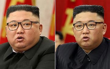 الصورة: الصورة: بالفيديو.. نحافة زعيم كوريا الشمالية تشغل العالم