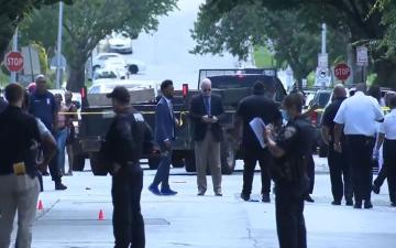 الصورة: الصورة: مقتل شخص وجرح 5 في إطلاق نار بمدينة بالتيمور الأمريكية