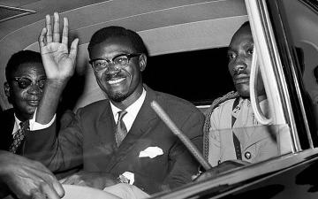 """الصورة: الصورة: دفن """"سن"""" لومومبا هذا الشهر في الكونغو بعد استعادتها من بلجيكا"""
