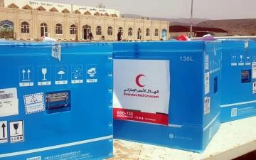 الصورة: الصورة: مسؤولون يمنيون: دعم الإمارات لسكان سقطرى في مواجهة كورونا يجسد دورها الإنساني