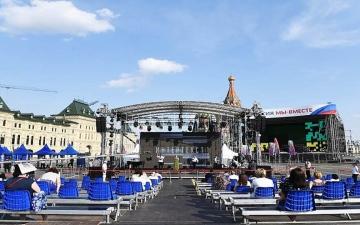 الصورة: الصورة: مهرجان «الساحة الحمراء» للكتاب يبدأ في موسكو