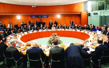 الصورة: الصورة: «برلين 2» هل ينجح في إجلاء القوات الأجنبية والمرتزقة من ليبيا؟