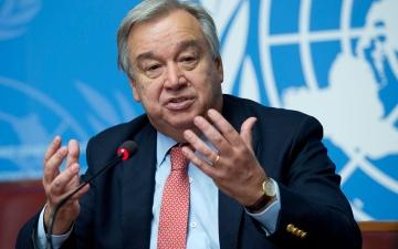 الصورة: الصورة: جوتيريس أميناً عاماً للأمم المتحدة لفترة ثانية