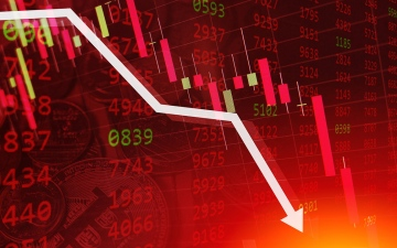 الصورة: الصورة: الأسهم العالمية تهبط بضغط توقعات رفع الفائدة الأمريكية