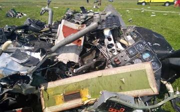 الصورة: الصورة: 4 قتلى في تحطم طائرة تنقل مظليين في روسيا