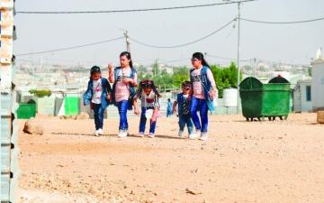 الصورة: الصورة: الانتماء للوطن عنوان يجمع اللاجئين السوريين