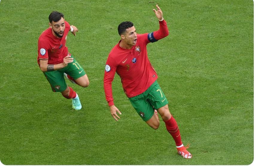 صورة رقم قياسي جديد لرونالدو في يورو 2020 – الرياضي – بطولة أمم أوروبا
