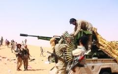 الصورة: الصورة: هجوم مضاد للجيش اليمني يقطع الإمدادات عن الحوثي في الجوف