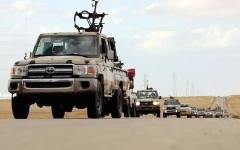 الصورة: الصورة: سلاح الجو الليبي يقصف مواقع الإرهابيين في جنوبي ليبيا