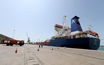 الصورة: الصورة: الحوثي يمنع المساعدات الدولية عن اليمنيين