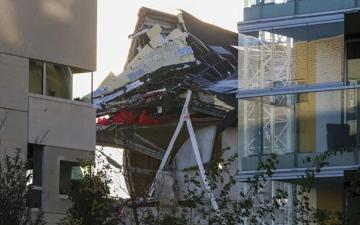 الصورة: الصورة: مصرع 5 أشخاص إثر انهيار مدرسة في بلجيكا